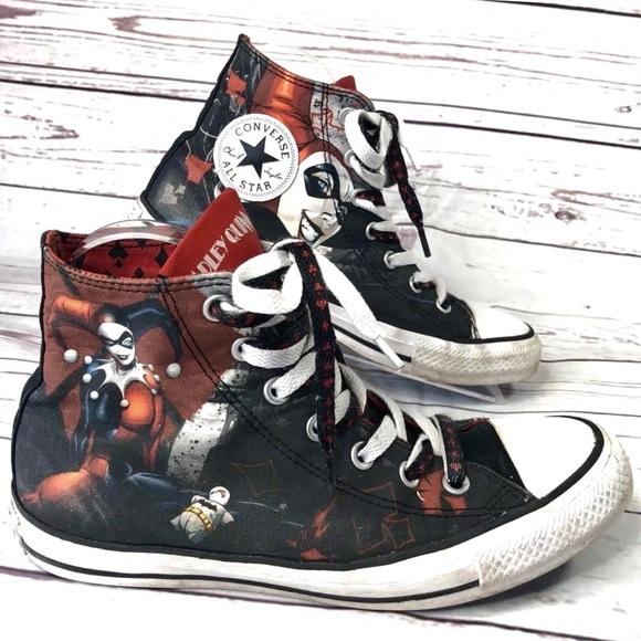 68cb7d9fbd4a Converse Other - Converse AllStar DC comics high top sneakers Sz 6